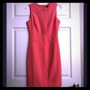 Sz 6 Coral Sheath Dress